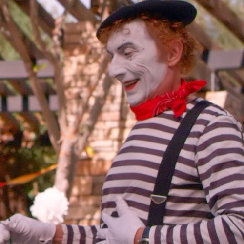 SF mime – Super Bowl  Commercial